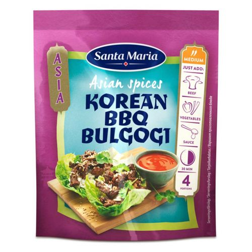 SANTA MARIA ASIAN SPICES KOREAN BBQ 35G 35 G