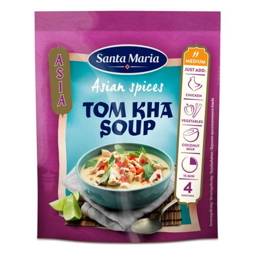 SANTA MARIA ASIAN SPICES TOM KHA SOUP 30G 30 G
