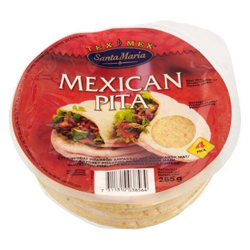 SANTA MARIA TEX MEX MEXICAN PITA 265 G