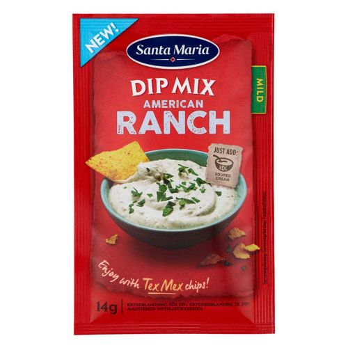 SANTA MARIA TEX MEX AMERICAN RANCH DIP MIX 14 G