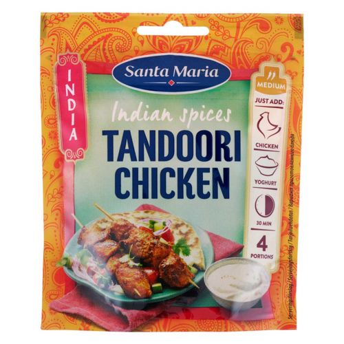 SANTA MARIA INDIA TANDOORI CHICKEN SPICE MIX 35 G