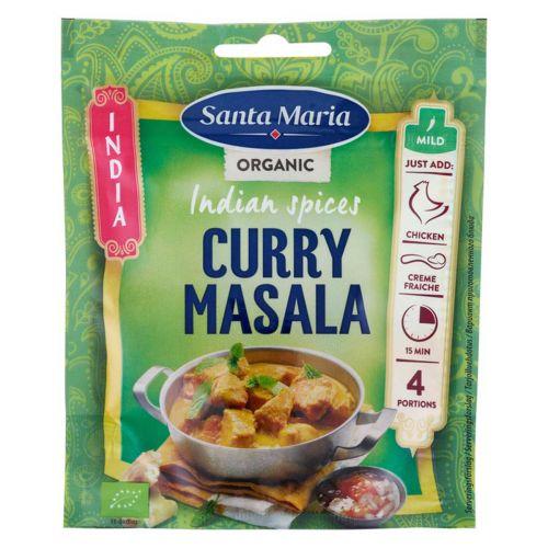 SANTA MARIA INDIA CURRY MASALA ORGANIC SPICE MIX 30 G