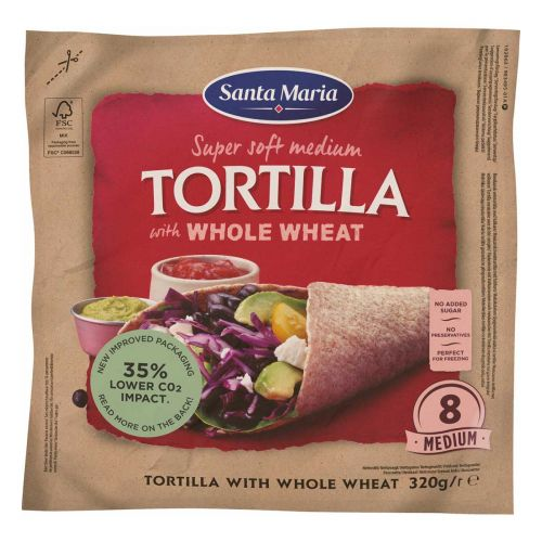 SANTA MARIA TEX MEX TORTILLA WHEAT 320 G