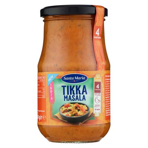 SANTA MARIA INDIA TIKKA MASALA COOKING SAUCE 350 G