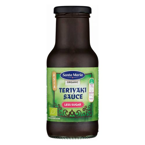 SANTA MARIA TERIYAKI LESS SUGAR 250ML LUOMU 250 ML