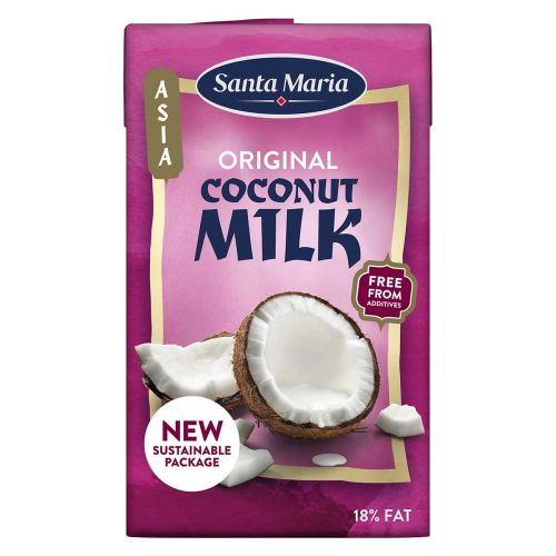 SANTA MARIA COCONUT MILK 250 ML