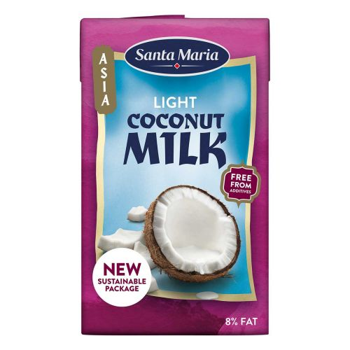 SANTA MARIA COCONUT MILK LIGHT 250 ML
