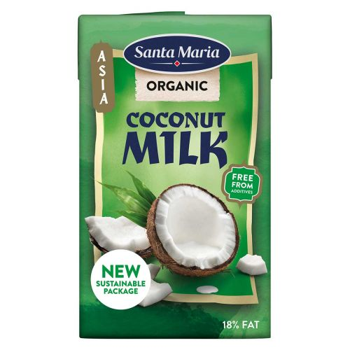 SANTA MARIA COCONUT MILK ORGANIC 250 ML