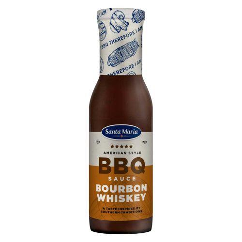 SANTA MARIA BBQSAUCE BOURBON WHISKEY 370 G