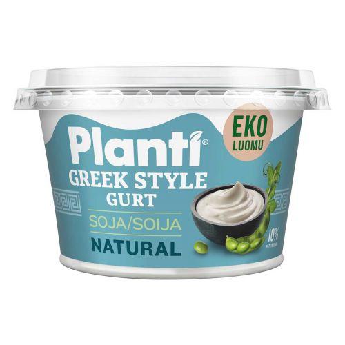 PLANTI GREEK STYLE GURT MAUSTAMATON LUOMU 200 ML