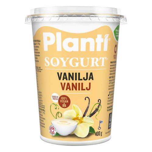 PLANTI SOYGURT VANILJA 400 G