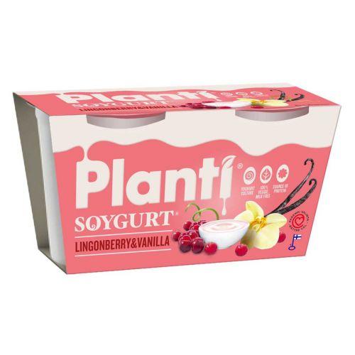 PLANTI SOYGURT PUOLUKKA-VANILJA 150G 2-PACK 300 G