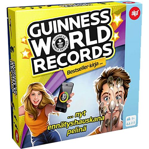 Alga Guinnes World Records Peli