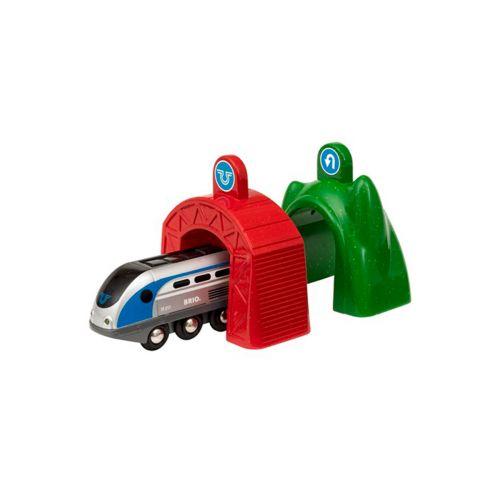 BRIO Smart Tech- Veturi ja Tunnelit