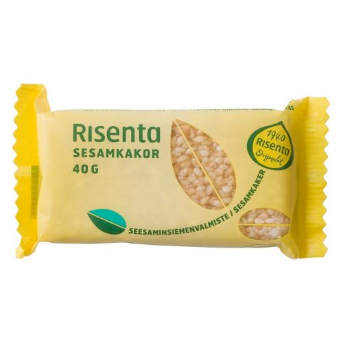 RISENTA SEESAMINSIEMENKAKKU  40 G