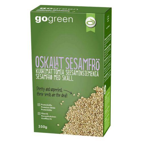 GoGreen kuorimattomia seesaminsiemeniä 350g