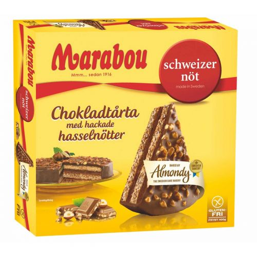 ALMONDY MARABOU SCHWITZERNÖT 400 G