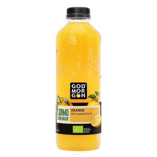 GOD MORGON ORGANIC ORANGE KMP 850 ML