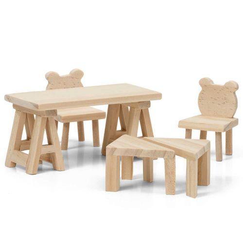 Lundby pöytä ja tuoli -setti