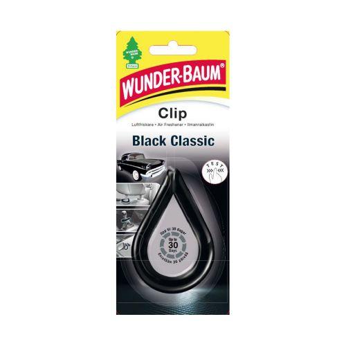WUNDER-BAUM CLIP HAJUSTE BLACK CLASSIC