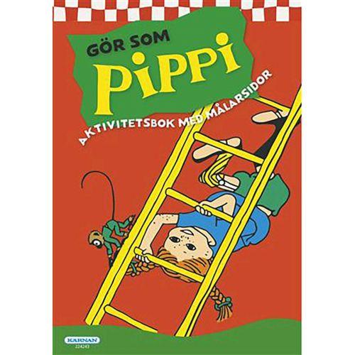 PIPPI AKTIVITETSBOK PYSSEL