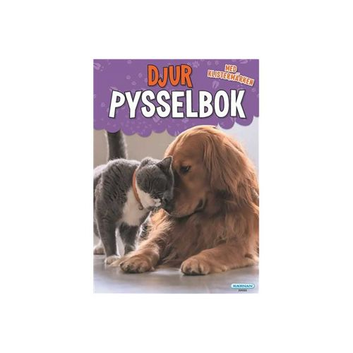 DJUR  PYSSELBOK