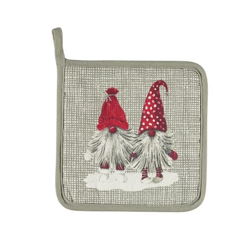 NOBLE HOUSE PATALAPPU TOMTE NISSE 20X20CM HARMAA
