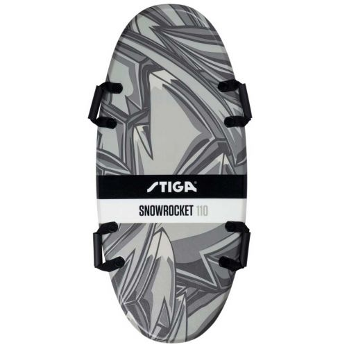 STIGA SNOW ROCKET 110 GRAFFITI MUSTA
