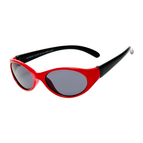 HAGA EYEWEAR LASTEN AURINKOLASIT BABIES RED-BLACK HR 1