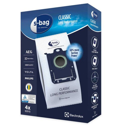 Electrolux S-Bag pölypussi E201S, 4kpl