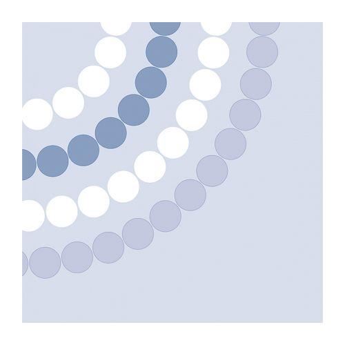 Duni Aarikka lautasliina Puisto sininen 33cm 20kpl