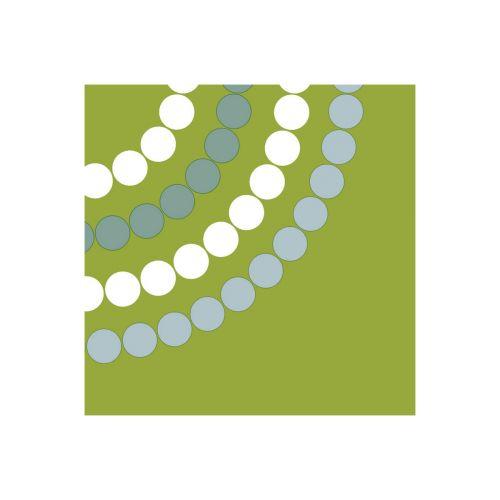 Aarikka lautasliina Puisto vihreä 33cm 20kpl