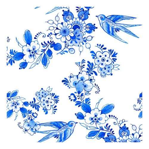 PAPER+DESIGN LAUTASLIINA BLUE BIRD 24CM