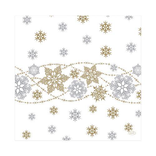 DUNISOFT LAUTASLIINA SNOW GLITTER WHITE 40CM