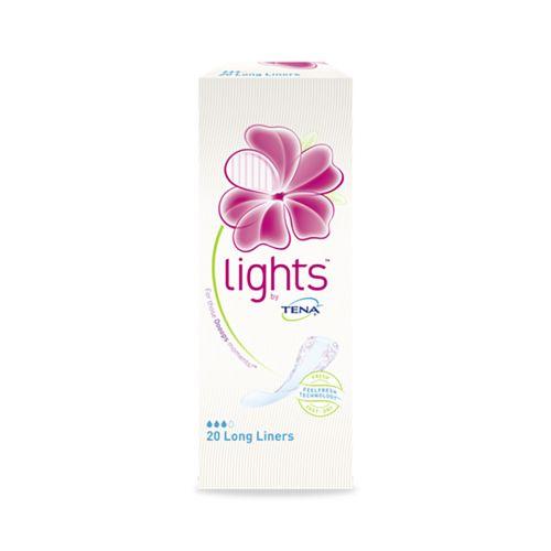 TENA LIGHTS BY TENA LONG LINER 20 KPL