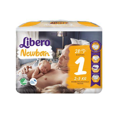LIBERO NEWBORN KOKO 1 2-4 KG  28 KPL
