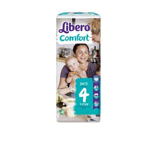 LIBERO COMFORT KOKO 4 7 11KG 54 KPL