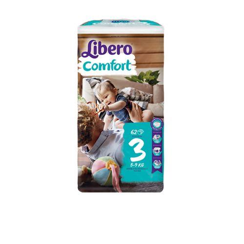 LIBERO COMFORT KOKO 3 5 9 KG 62 KPL