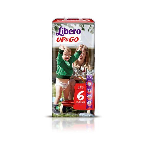 LIBERO UP&GO KOKO 6 13-20 KG  38 KPL