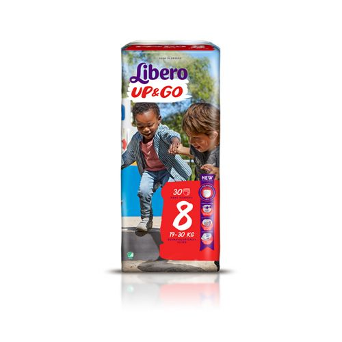 LIBERO UP&GO KOKO 8 19-30 KG  30 KPL