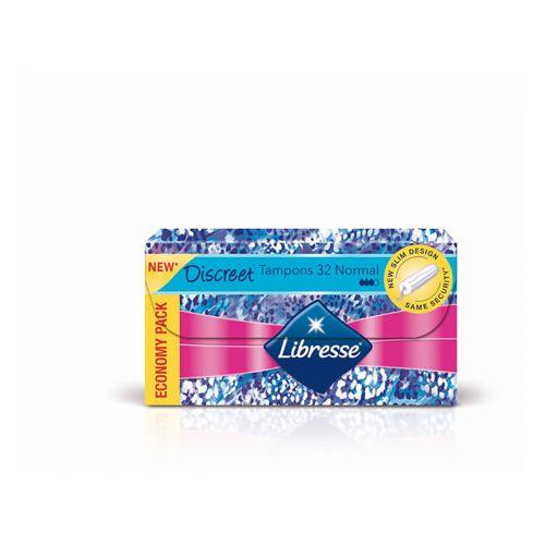 LIBRESSE TAMPONI DISCREET NORMAL 32 KPL 32 KPL