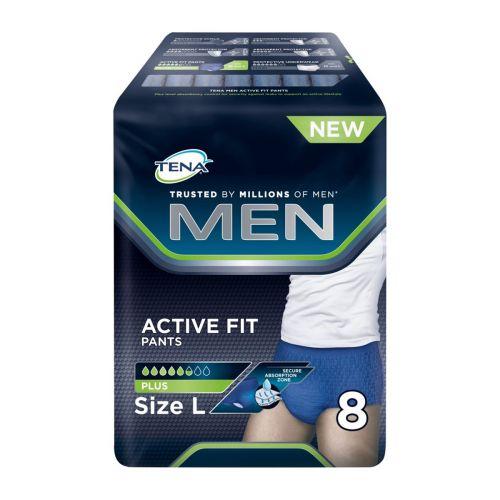 TENA MEN ACTIVE FIT PANTS LARGE 8 KPL