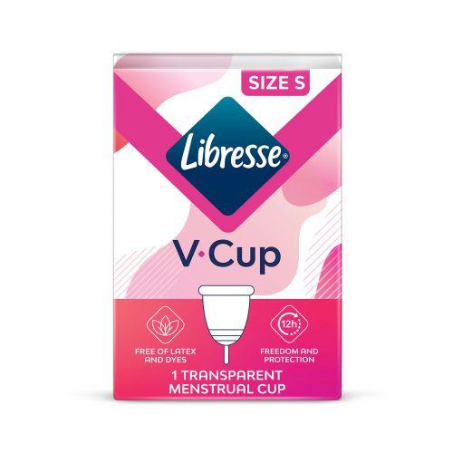 LIBRESSE V-CUP KUUKAUTISKUPPI S