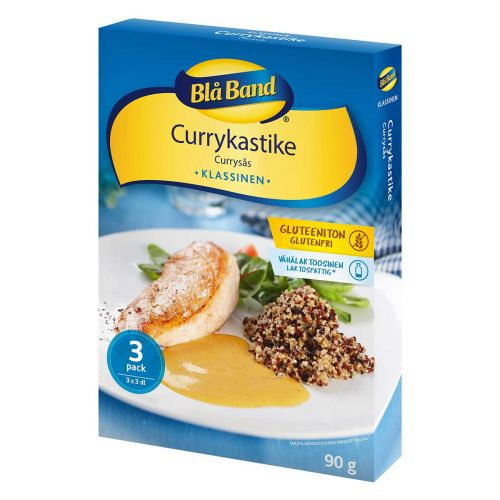 BLÅ BAND KASTIKE CURRY GTON 3-PACK 90 G