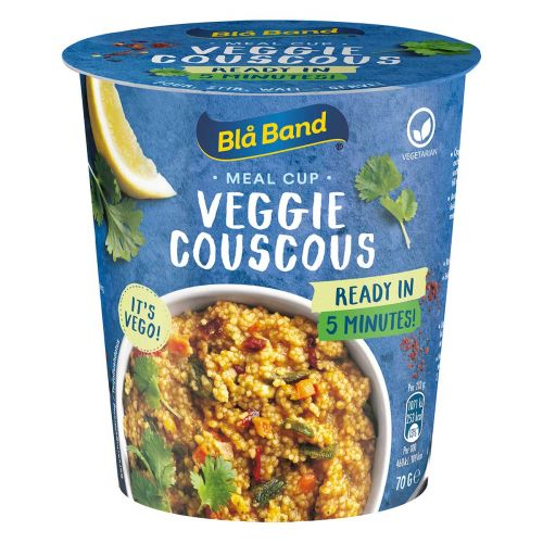 BLÅ BAND MEAL CUP VEGGIE COUSCOUS 70 G