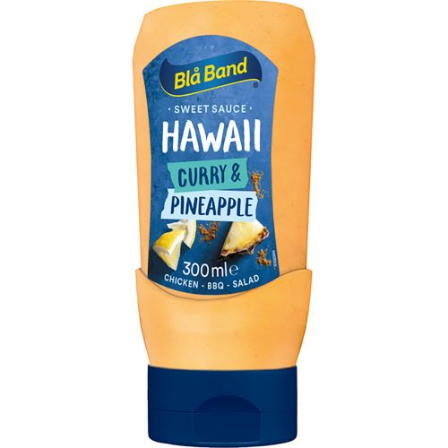 BLÅ BAND HAWAII ANANAS-CURRYKASTIKE 300 ML
