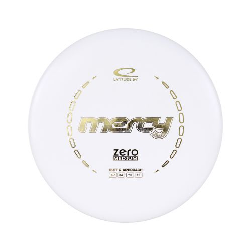 LATITUDE 64° ZERO MERCY MEDIUM BBS WHITE