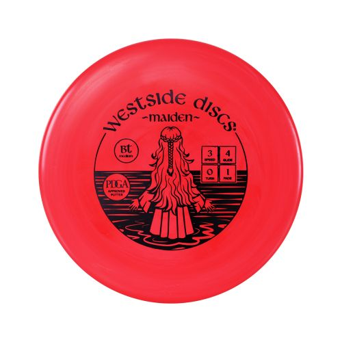 WESTSIDE DISCS BT MAIDEN MEDIUM BBS RED
