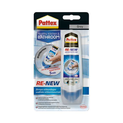 PATTEX SILIKONISAUMAN EHOSTAJA RE-NEW 100ML HARMAA 100 ML