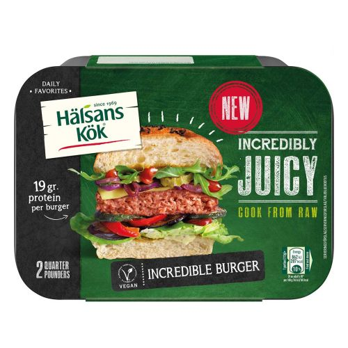 HÄLSANS KÖK INCREDIBLE BURGER  226 G